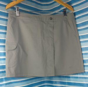 Stretchy Serena Tennis Golf Preppy hiking Camp CheerLeader Skort Cargo pockets M